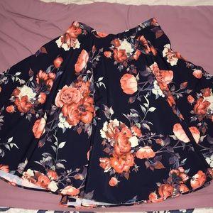 ModCloth High Waist Skirt